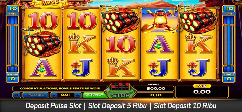 Deposit Pulsa Slot